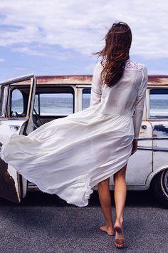 Gorgeous windswept dress.