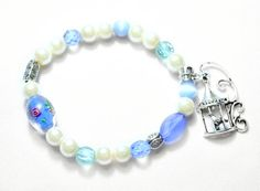 Boho Bracelet Beaded bracelet Valentines Gift Blue by Soulbracelet Bohemian Bracelets, Beaded Bracelets, Valentine Gifts, Glass Beads, Romantic, Boho, Trending Outfits, Unique Jewelry, Handmade Gifts