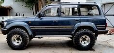 Hi all Was wondering how will those super swampers 38x15.5r16.5 look on Land Cruiser 80. I already had a 2 inch Suspension lift installed. Removed that, Installed taller springs, Iron man, Rancho TRD adjustable shocks, anti sway bars and almost every suspension part that is adjustable. The Fender flares are being painted and I already bought OVER FENDERS which will make the 4x4 look even wider. Ill also install the bull bar with IPF lights. Just making mounts for it. [image]