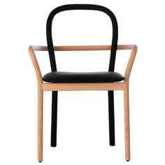The Gentle chair, designed by the Swedish design collective Front for Porro, was on display at this year's Milan Furniture Fair. #chair #design #wood
