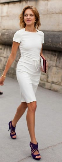 LWD- Natalia Vodianova wearing Valentino