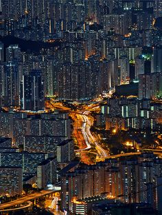 Photo by CoolbieRe of Wang Tau Hom, Kowloon, Hong Kong Night City, Urban Landscape, City Lights, Light Photography, Cities, Hong Kong, Skyline, Around The Worlds, Pictures
