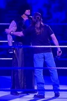 One does not simply pat The Undertaker / Shawn Michaels