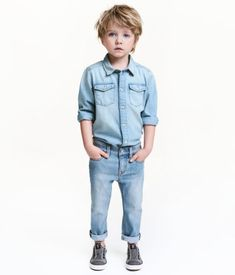 Slim Jeans | Light denim blue | Kids | H&M US