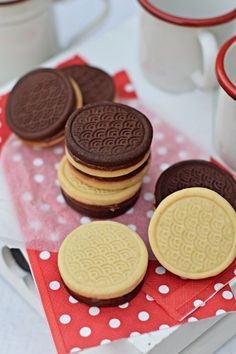 Cookie Desserts, Sweet Desserts, Sweet Recipes, Cookie Recipes, Dessert Recipes, Traditional Cakes, Gourmet Gifts, Pastry Recipes, Sweet Cakes