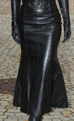 long leather dress - Google Search