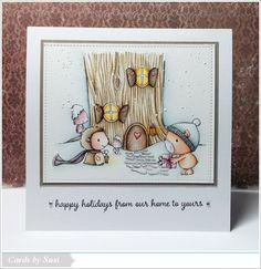 Treehouse, Forrest (hedgehog), Oakley (bear) & Snowflake Grove sentiment