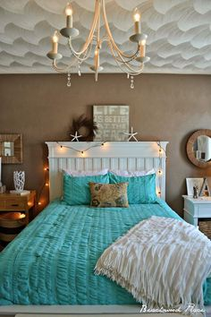 31 Comfy Beach Themed Bedrooms For Girls
