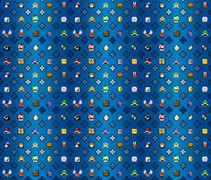 mario vuitton fabric by malkreth on Spoonflower - custom fabric
