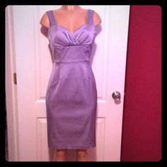 Cocktail dress lavender lilac pencil Beautiful dress in a Beautiful lavender color , worn once before. Perfect for a wedding, or any type of party. Perfect condition, fits great, and looks fabulous on. Lavender Color, Lilac, Purple, Donna Ricco, Lavender Dresses, Fashion Design, Fashion Tips, Fashion Trends, Beautiful Dresses