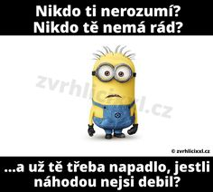 Funny Texts, Picture Quotes, Emoji, Minions, Jokes, Love You, Lol, Chistes, Je T'aime