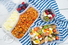 LunchBox - przepisy na cały tydzień I - Kasia. Diet Soup Recipes, Healthy Recipes, Work Lunch Box, Diet Lunch Ideas, Diet Inspiration, Living At Home, Food Design, Bento, Food Videos