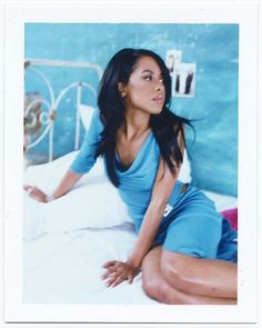 """via @jonathanmannion """"ORIGINAL POLAROID of AALIYAH, never seen before by anyone except us… a true 1 of 1. She truly embodied class, humility, elegance and grace. #Aaliyah . Tomorrow is not promised. Forgive others quickly, forgive YOURSELF..."""