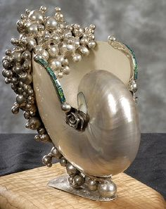 Nautilus sculpture