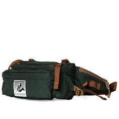 Mt. Rainier Design Pocket Hip Pack (Forest)