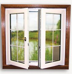 And French Window – Smile Images Wooden Casement Windows, French Door Windows, European Windows, Upvc Windows, Windows And Doors, French Doors, Impact Windows, Tilt And Turn Windows, Doors