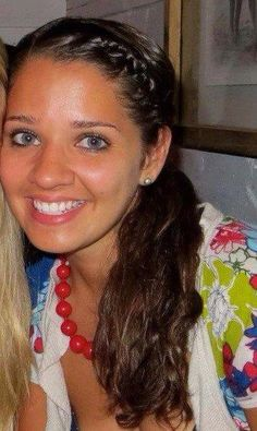 This is Victoria Soto, and although I didn't know her, she is my hero. I don't know too much about her, and she's amazing. Victoria was a Stratford high graduate and only 27. She was killed today after she hid her first graders in closets and cabinets and told the shooter they were in the gym. He killed her and not one of her children were harmed.*