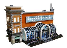 Lego Boston Globe