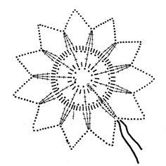 snowflake crochet 140
