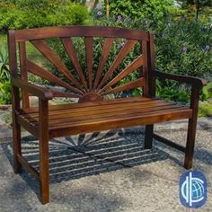 online shopping for Rothstein Outdoor Wood Garden Bench Beachcrest Home from top store. See new offer for Rothstein Outdoor Wood Garden Bench Beachcrest Home Outdoor Garden Bench, Wooden Garden Benches, Patio Bench, Wood Patio, Outdoor Decor, Outdoor Benches, Outdoor Plants, Rustic Outdoor, Outside Benches