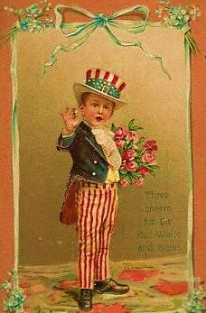 A Little Vintage Hello: free 4th of July postcards