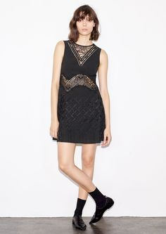 Embroidered Lace Dress - Thakoon