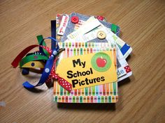 My School Pictures Mini Album   by Hampshire Rose, $15.00  One for each year!