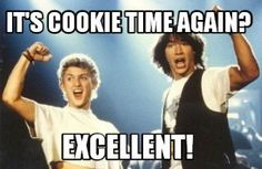 Be excellent to each. Bill S Preston Esq & Ted Theodore Logan via QuotesPorn on June 08 2018 at Girl Scout Cookie Meme, Girl Scout Cookie Sales, Daisy Girl Scouts, Girl Scout Troop, Scout Leader, Girl Scout Cookies Flavors, Brownie Scouts, Sales Girl, Girl Scout Juniors