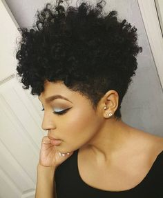 Tapered @missalexandrianicole #luvyourmane #blackisbeautiful #naturalhair #taperedcut