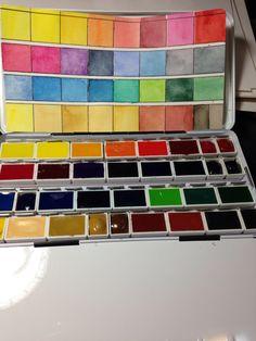 Updated Schmincke palette
