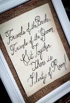 I like the wording of this better than any other I have seen! wedding-ideas