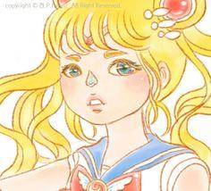 켡's sailor moon illust #켡 #art #artwork #HYUNZ #illust #image #draw #drawing #visualart #일러스트 #그리다 #girl #illustrator #세일러문 #illust #illustration #animation #HYUNZ #comic #애니 #달의요정 #セーラームーン #SailorMoon