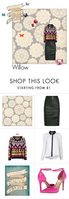 """Sweater"" by scarsandstories ❤ liked on Polyvore featuring Sara Berman, A.L.C. and Jessica Simpson"
