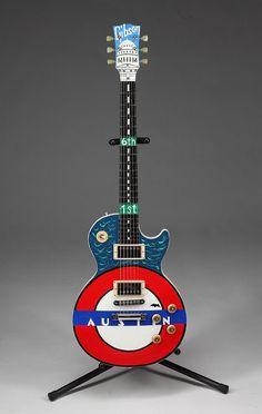 Les Paul Standard Gibson electric guitar, Austin & Congress details