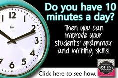 Daily Grammar Program for Middle to High School | Faulkner's Fast Five | Starters, Worksheets, Quizzes