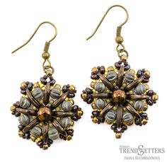 Octavia Earrings | Bead Index > Patterns