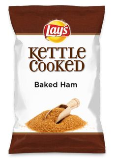 Wouldn't Baked Ham be yummy as a chip? Lay's Do Us A Flavor is back, and the search is on for the yummiest flavor idea. Create a flavor, choose a chip and you could win $1 million! https://www.dousaflavor.com See Rules.