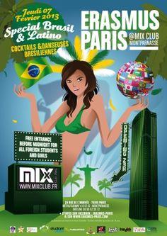 Erasmus Paris : Special Bresil & Latino