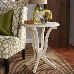 Daffodil Table - Antique White | Pier 1 Imports