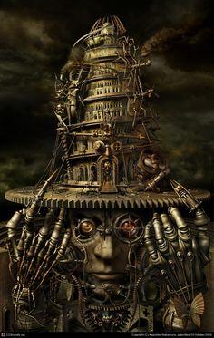CGTalk - Brain Tower, Kazuhiko Nakamura (3D)