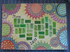 Draw Daily: calendar