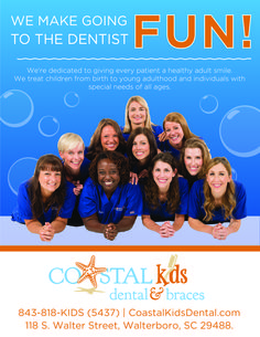 Kid's Dentist in Walterboro!!  Fun pic of our Dr's