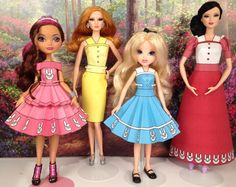 Alice Printable Doll Clothes - Fits Ever After High, Moxie Girlz, Barbie, and more!