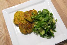 EGOSHE.dk - En madblog med South Beach opskrifter og andet godt...: Krydrede kikærtedeller og vårsalat