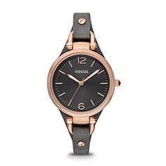 Fossil Women's ES3077 Georgia Rose Gold-Tone Stainless St... https://www.amazon.com/dp/B007NFGDGK/ref=cm_sw_r_pi_dp_x_UossybFMT9BMH