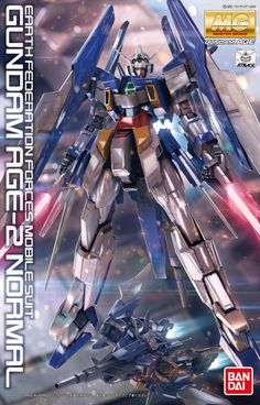 GUNDAM GUY: MG 1/100 Gundam AGE-2 Normal - Wallpaper Sized Box Art & Other New Official Images [Updated 8/3/12]