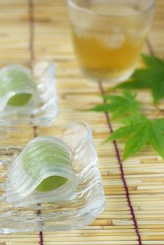Japanese sweets of summer.