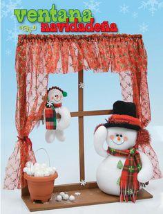 Moldes o patrones para elaborar hermosos muñecos navideños ALBUM 50 WhatSap +57 323 4670780 Christmas Storage, Christmas Crafts, Merry Christmas, Xmas, Christmas Ornaments, Christmas Window Decorations, Holiday Decor, Diy And Crafts, Crafts For Kids