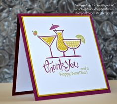Stampin' Up ideas and supplies from Vicky at Crafting Clare's Paper Moments: Wishing you a happy 2013