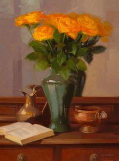 ORANGE ROSES, BY LAURIE KERSEY